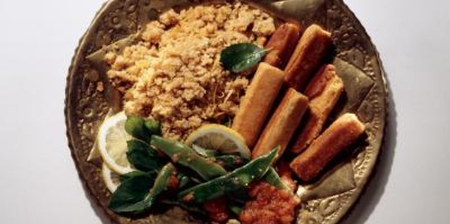 Bulgur wheat is used in many Mediterranean and Middle Eastern dishes.