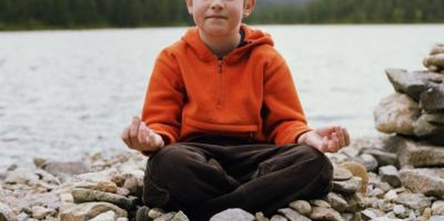 Learning relaxation techniques like meditation can help children with autism to manage angry feelings.