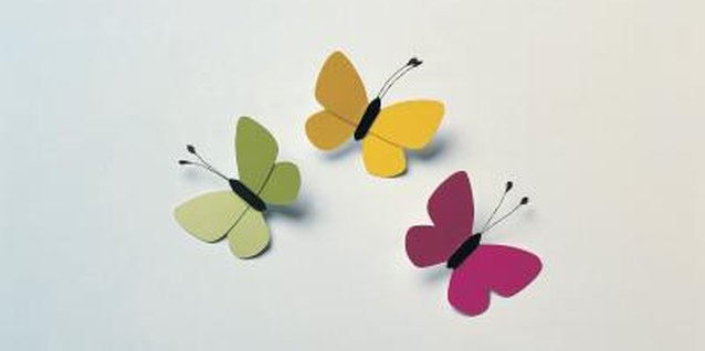 Making Large Butterfly Wall Art