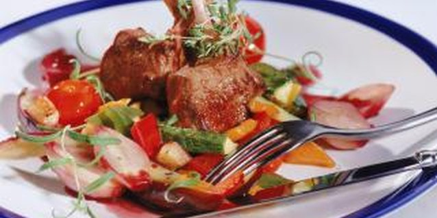 Lamb chops make an impressive presentation, but are easy to prepare.