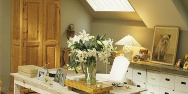 Install a skylight to add natural light in a dark room.