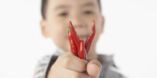 Kids can enjoy Goat's Weed peppers if they have supervision.