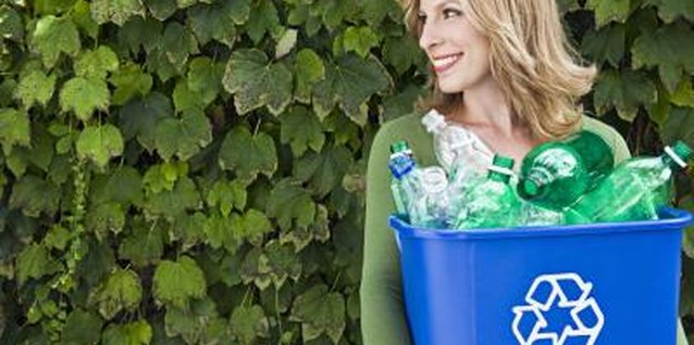 Reusing uses less energy than recycling, so use those bottles to water your plants.
