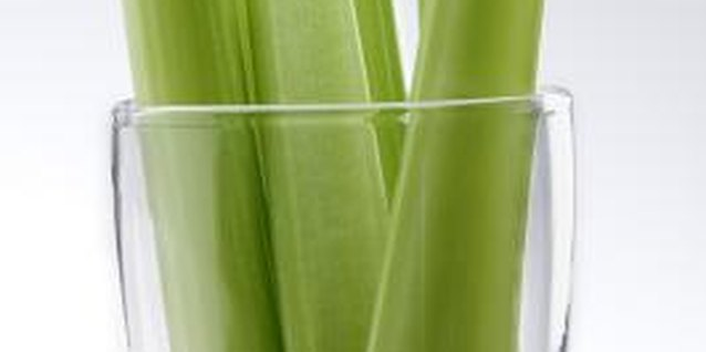 Dark green varieties of celery tend to have a stronger flavor than lighter varieties.