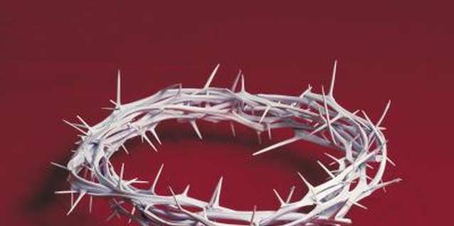 Activities for Kids on Lent and the Crown of Thorns