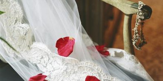 How to Keep Wedding Dresses From Turning Yellow