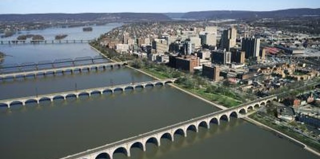 Stroller in tow, take your toddler for a simple walk across the bridges of Harrisburg.