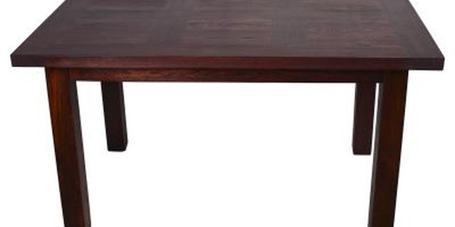 How to Repair Walnut Furniture Veneer