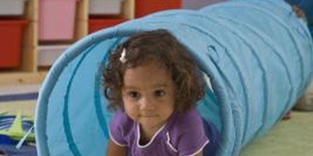 Many kids love the activities and friends they find at daycare.
