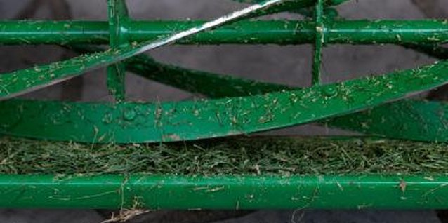 Wash grass clippings off mowers before storing them to prevent rust.