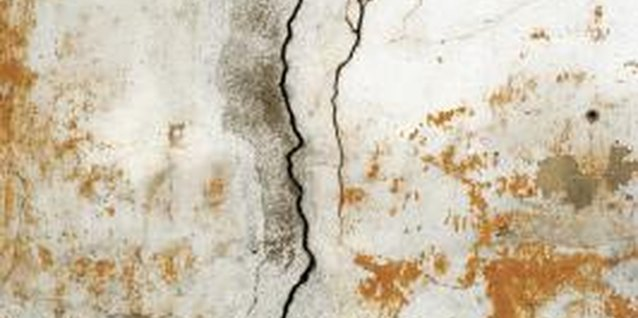 Cracks in drywall can be easily repaired.