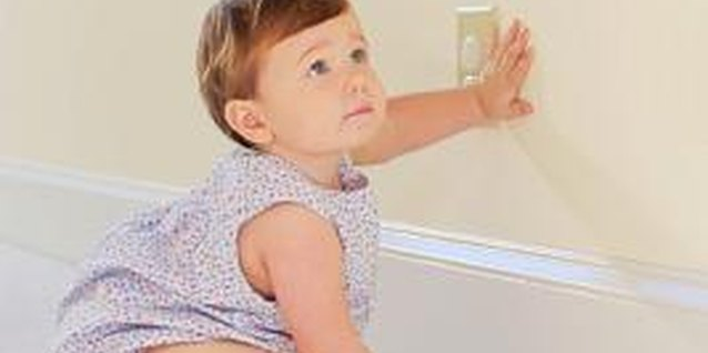 Child-proofing your house is a good way to stop trouble before it starts.