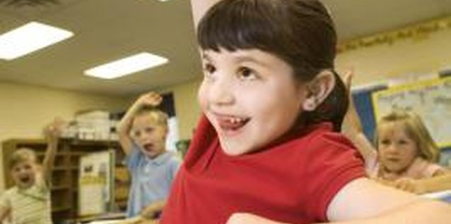 A child with ADHD may be boisterous or excitable in class.