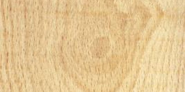 Particle board is made of wood but does not have grain.