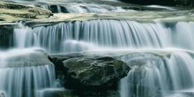 Stone Slab Waterfall
