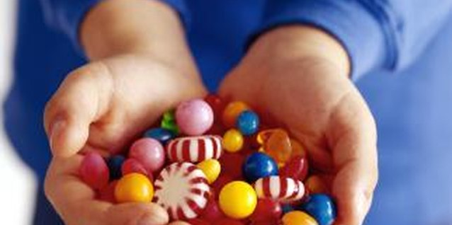 Small candies are ideal for potty training.