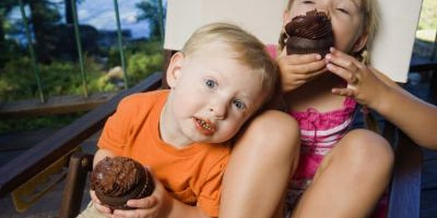Kids happily eat vegetables when they're hidden in chocolate cupcakes.