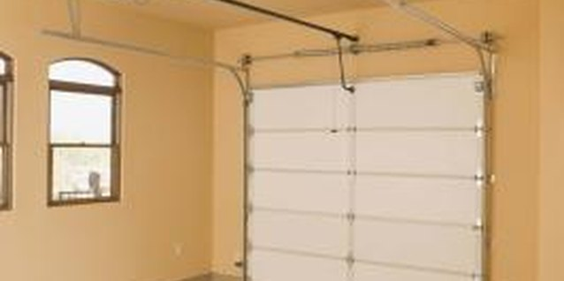 Garage window treatments add a level of security to your home.
