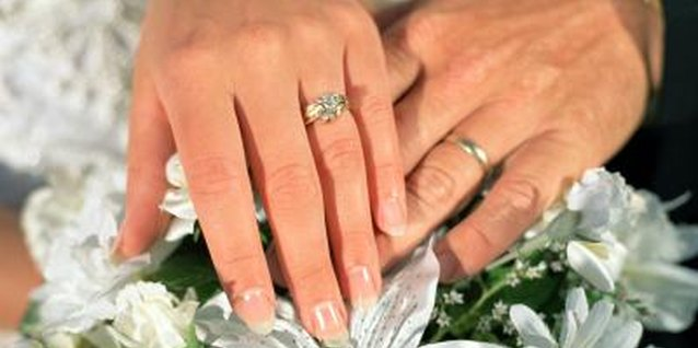 Wedding rings are considered sacred symbols of love and fidelity.