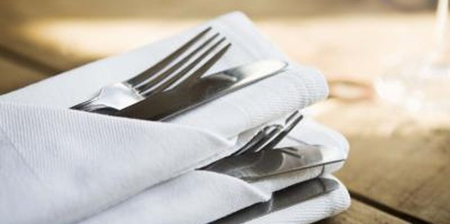 Decorative Napkin Folding Techniques