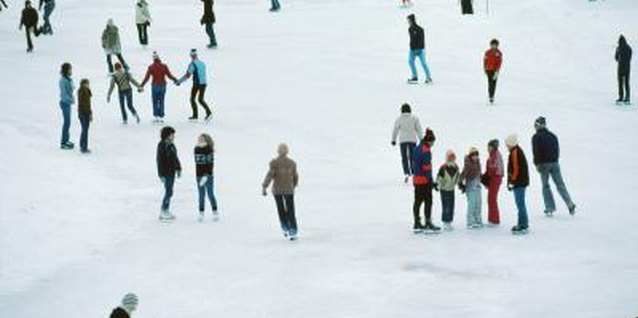 Many outdoor skating rinks near New Jersey are free on New Year's Day.