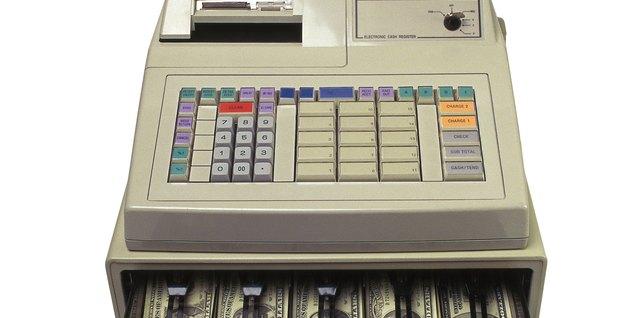 Cómo programar cajas registradoras electrónicas Sharp