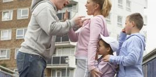 Experiencing emotional and verbal abuse from your husband can have a negative effect on your children.