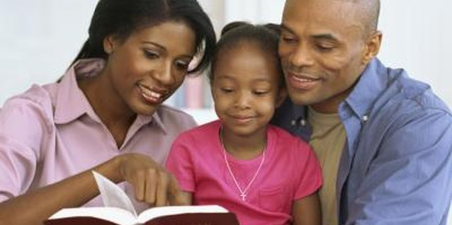 Foster a love for the Bible in your kids by focusing on the Bible's many stories.