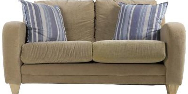 Restuffing a Couch Cushion in Furniture Repair