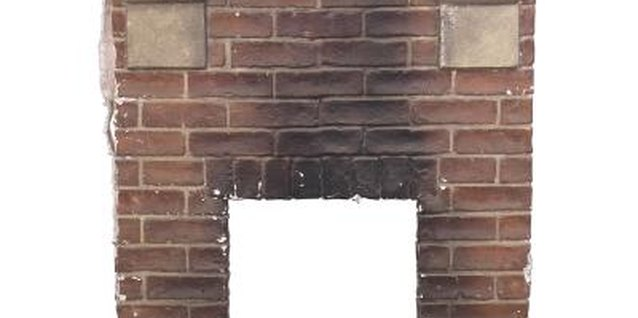 How to Refinish a 70s Full-Wall Brick Fireplace