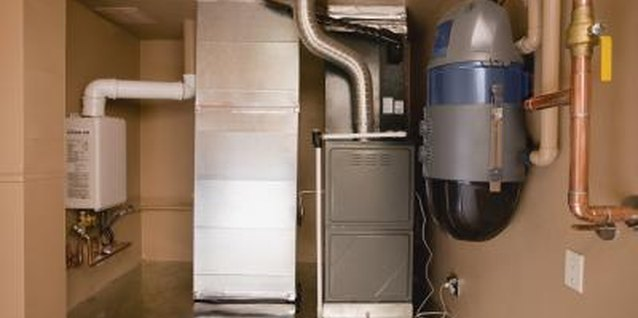 Obstructions in furnace ducts keep warm air from reaching cold rooms.