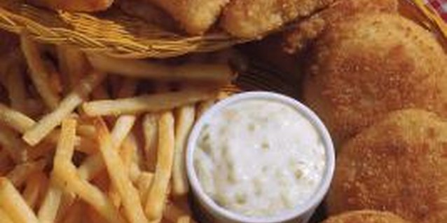 Tartar sauce is often served with fried fish entrees.