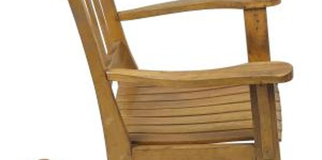 How to Stop a Rocking Chair From Squeaking