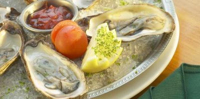 Eating oysters will help you meet your recommended iron intake.