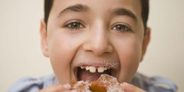 You can treat the kids to homemade donuts, even if you run out of baking powder.