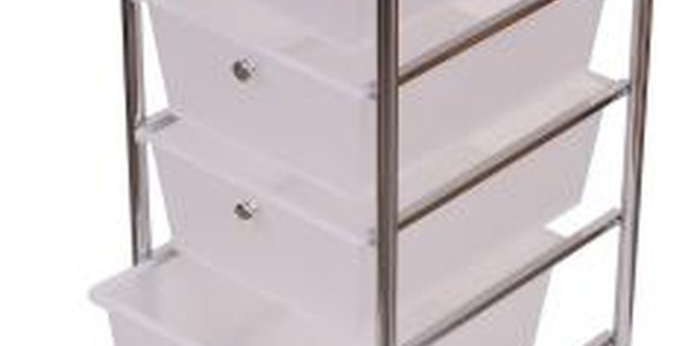 How to Decorate With Plastic Stack Drawers