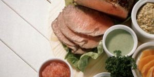 Spice up cooked roast beef with a variety of sauces.