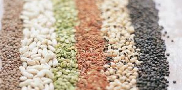 Beans and lentils contain vitamin B-6.