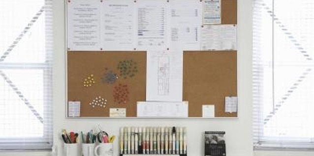 Corkboard doesn't have to be purely utilitarian.