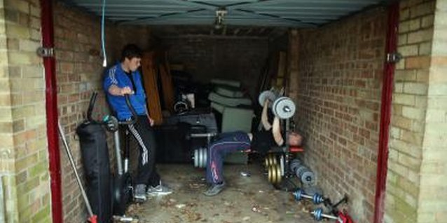 How to make a garage gym on a budget