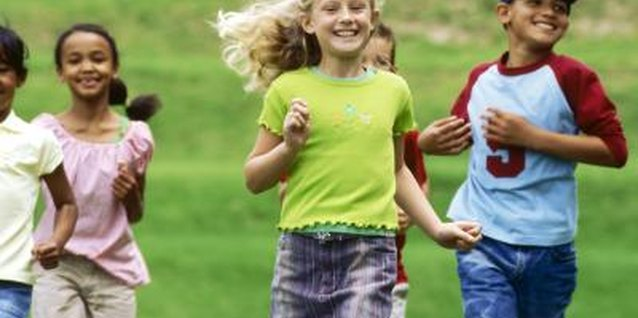 Vigorous exercise, such as running, helps children with behavior problems.