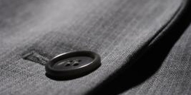 How to Clean a Suit Coat at Home