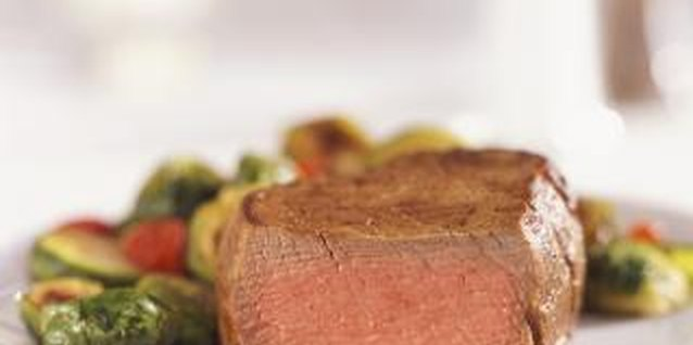 Steak can be part of a healthy meal when paired with vegetables.