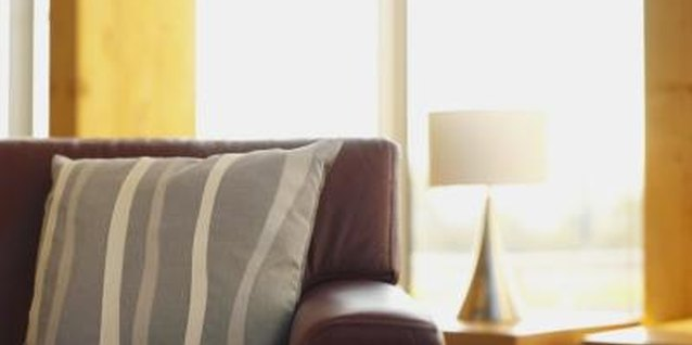 Keep the cushion in place with a few decorator's tricks.