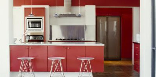 How to Update a Melamine Kitchen