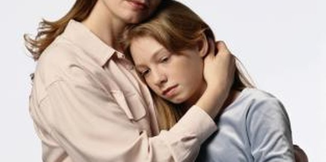 Children living in a single parent home might struggle with low self-esteem.
