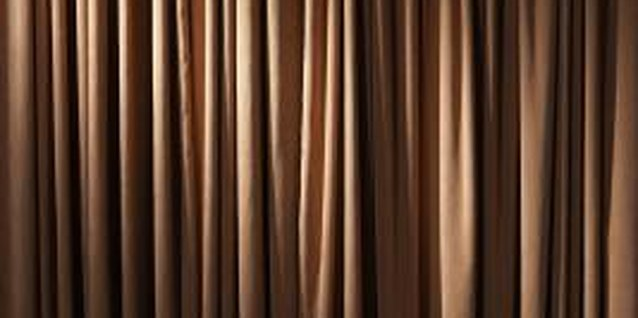 Fabric weight and drape are important factors to consider when using a curtain in a closet opening.