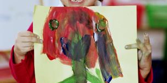 Exploring Feelings With Children Using Paint