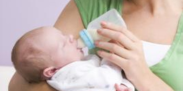 Your baby will let you know when she needs her bottle.