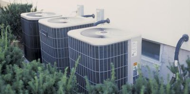 It is important to landscape around air conditioners properly.